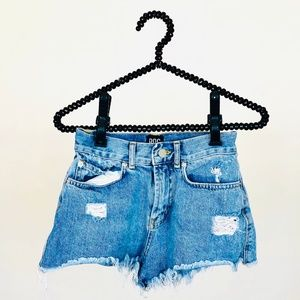 Urban Outfitters BDG jean shorts distressed 25